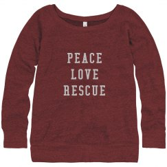 PEACE - LOVE - RESCUE