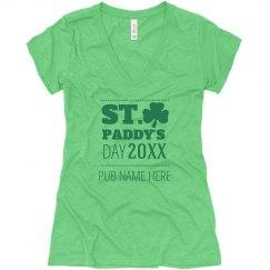 Custom Pub St. Patrick's Day