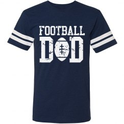 88a63b3f295 Custom Football Dad Shirts