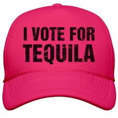 Neon Vote For Tequila
