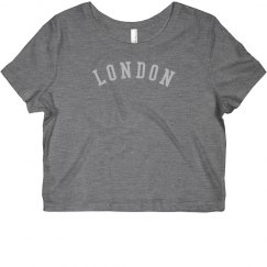 LONDON Rhinestones Top