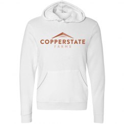 Copperstate Farms Unisex Canvas Fleece midweight hoodie