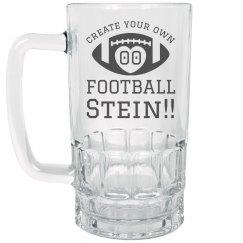 Custom Football Stein