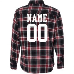Custom Flannel Number