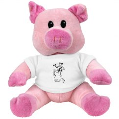 Work it - Small Plush Pink Piggie