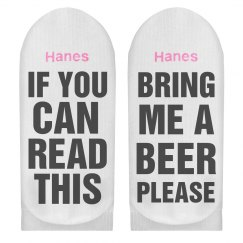 If You Can Read This Bring Beer