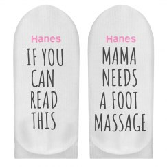 Funny Message Mama Need Massage