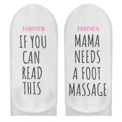 Funny Message Mama Need Massage