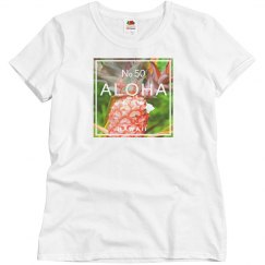 Aloha Hawaii Island Red Pineapple Shirt