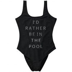 Metallic Pool Love Swimsuit