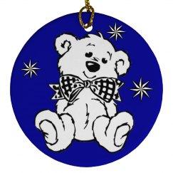 White Bear Ornament