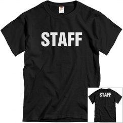 Staff Tee w/ Back