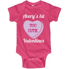 Too Cute 1st Valentines