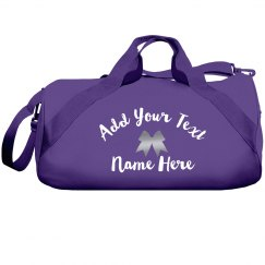 Personalized Cheerleader Gear Bag