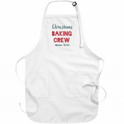 Custom Christmas Baking Crew Aprons