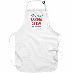 Custom Christmas Baking Crew Aprons