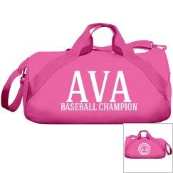 Ava, Baseball Champ