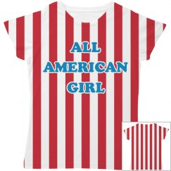 All American Girl All Over Print