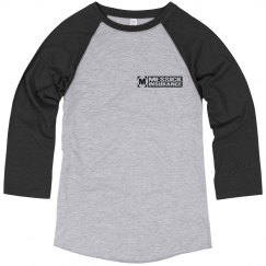 Messick Raglan - black