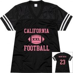 Cali Football w/ Back