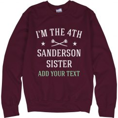I'm The 4th Sanderson Sister