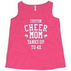 Custom Plus Cheer Mom Fan
