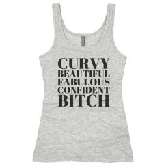 Curvy Fabulous Bitch Tank