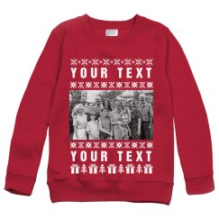 Custom Photo Upload Ugly Sweater