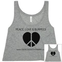 PEACE, LOVE & BURPEES 1