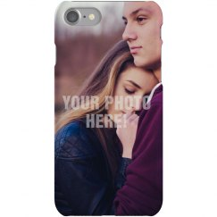 Custom Couple Photo iPhone Case