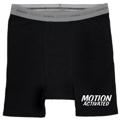 MOTION ACTIVATED Men's Boxer Bri