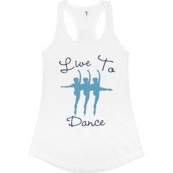 Live To Dance Tank