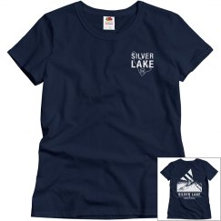 Women's fit SILVER LAKE t-shirt