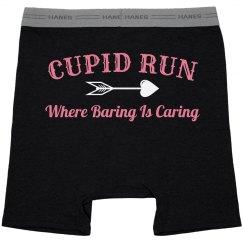 Baring During Cupid Run