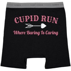 Baring During Cupid Run