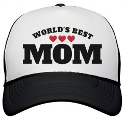 Worlds Best Mothers Day Gift Hat