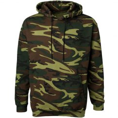 camo hoodie regular