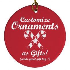Custom Ornament Gifts