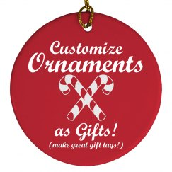 Custom Ornament Gifts