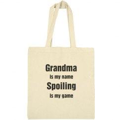 Spoiling Grandma
