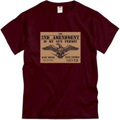 Gun Permit Tee