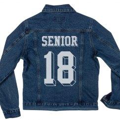 Seniors '18 Denim Jacket
