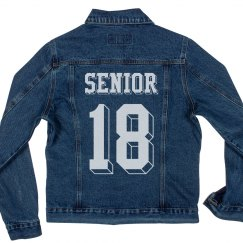 Seniors '18 Denim Jacket