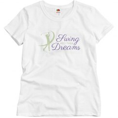 Swing Into Their Dreams White Tee