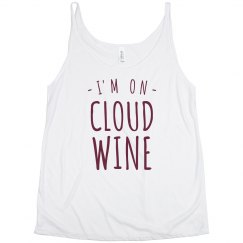 On Cloud Wine Split Tank