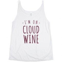 On Cloud Wine Split Tank
