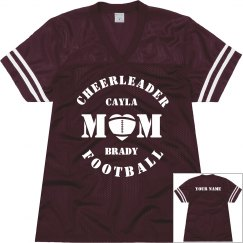 Cheer & Football Mom Jersey