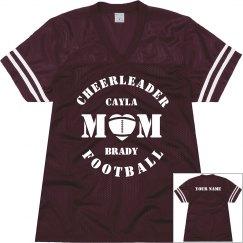 Cheer & Football Mom Jersey