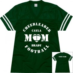 Football & Cheer Mom Jersey