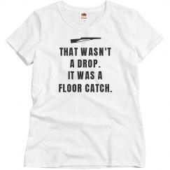 Floor Catch Color Guard